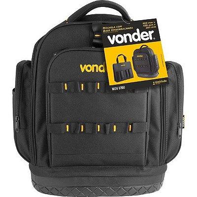 Mochila para Ferramentas com base Emborrachada MOV 0300 - 35.40.500.030 - Vonder