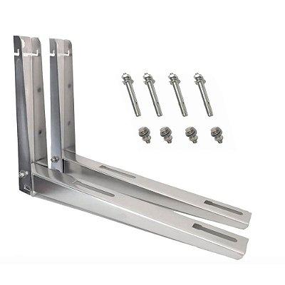 Suporte Condensador Inox  7000 a 12000 BTU - 450mm