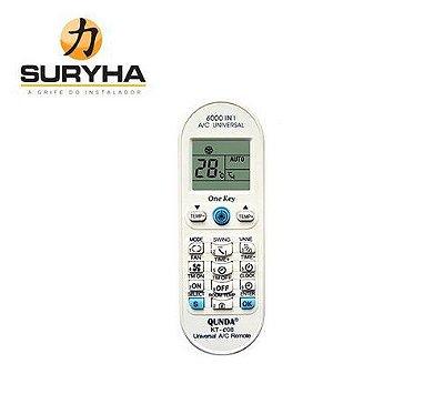 Controle Remoto Universal Premium - 80150.093 - Suryha