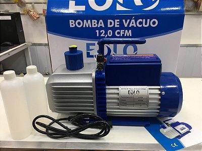 Bomba de Vácuo 12,0 CFM Bivolt Duplo Estágio - 000007 - Eolo
