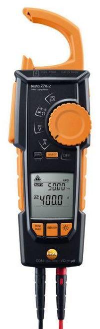 Alicate Amperímetro Digital Testo 770-2 - 0590 7702 - Testo