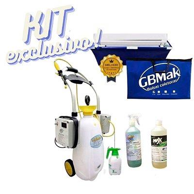 KIT GBMAK Clean 130psi + Coletora + Pulverizador + Brinde