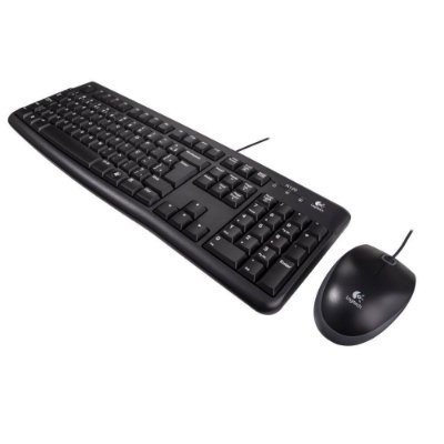 Teclado e mouse com fio MK120