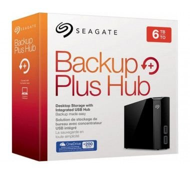 HD Externo 6Tb Backup Plus Seagate