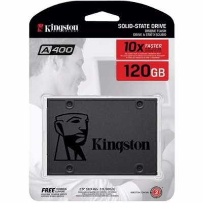 Ssd Kingston 120 Gb Sata 6gb/s 2.5  A400 500mb/s