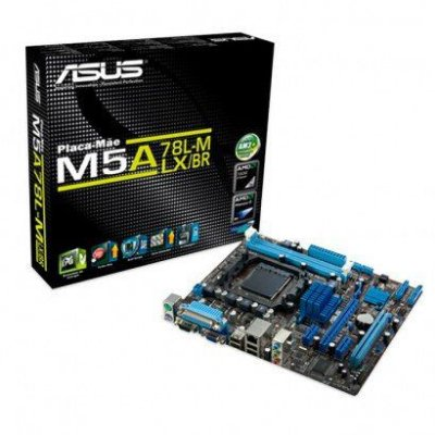 Placa Mãe Asus M5A Micro ATX AMD AM3+ M5A78L-M LX/BR