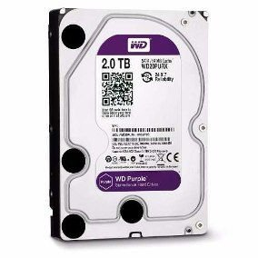 HD WD 2TB Purple SATA 6 Gb/s