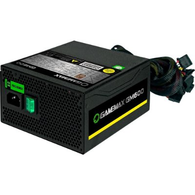 Fonte Gamemax 600W 80 Plus GM600