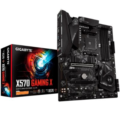 Placa-mãe Gigabyte X570 Gaming X, AMD AM4, ATX, DDR4