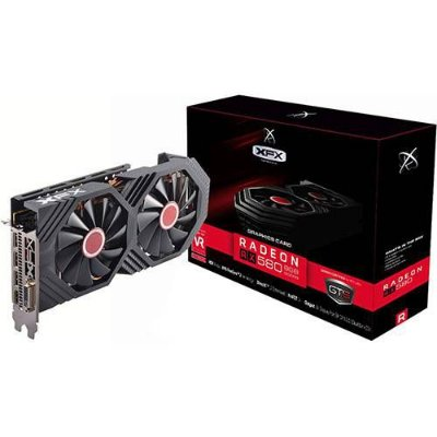 Placa de Vídeo AMD XFX Radeon RX 580 FatBoy OC+ 8GB, GDDR5