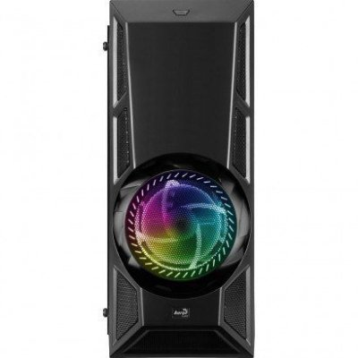 Gabinete Gamer Aerocool ENGINNER Mid Tower, RGB, com FAN, Lateral em Acrílico