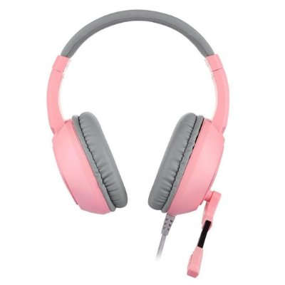 HEADSET GAMER MOTOSPEED G750 PINK 7.1 USB