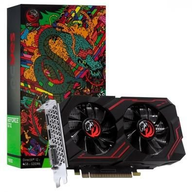 Placa de Video GTX1650 4Gb 128Bits GDDR6 PCYes Graffittis Series