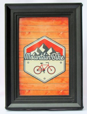 QUADRINHO DECORATIVO MOUNTAIN BIKE