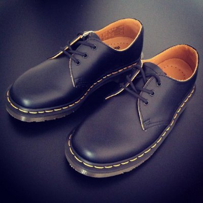 Dr. Martens 1461 - Black Smooth