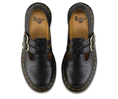 Dr. Martens 8065 Mary Jane Black Smooth - Novo Sem Caixa!