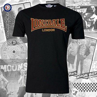 Camiseta Lonsdale Classic - Preto