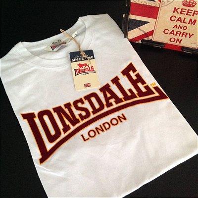 Camiseta Lonsdale Classic - Branco