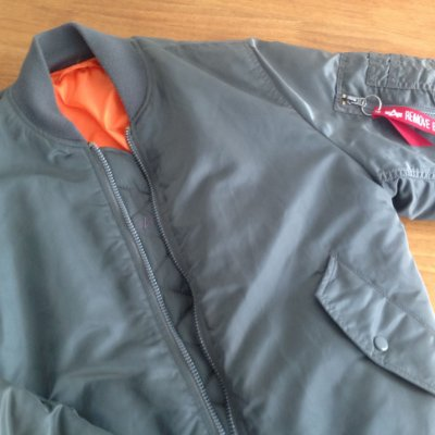 Bomber Jacket Alpha MA-1 Reversible - Grey (Mostruário)