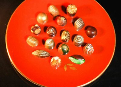 Chocolates Belgas Sortidos (50 unidades)
