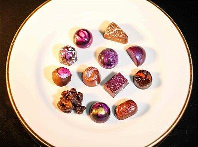 Chocolates Belgas Sortidos (100 unidades)