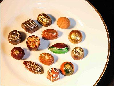 Chocolates Belgas Sortidos (150 unidades)