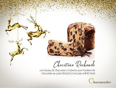 Chocotone 650g Gotas de Chocolate com Fondant Belga ao leite