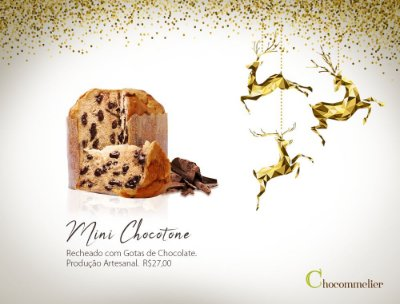 Mini Chocotone - Uma Linda Lembrança