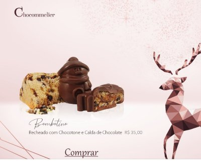 Bombotino - Recheado com Chocotone - Best Seller!