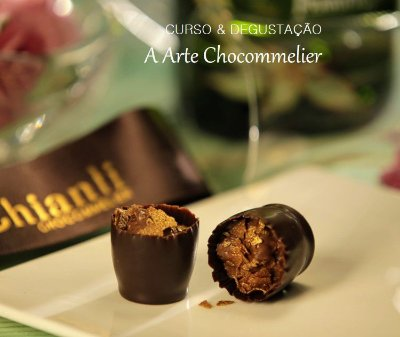 Workshop Vinhos & Chocolates - A Arte Chocommelier