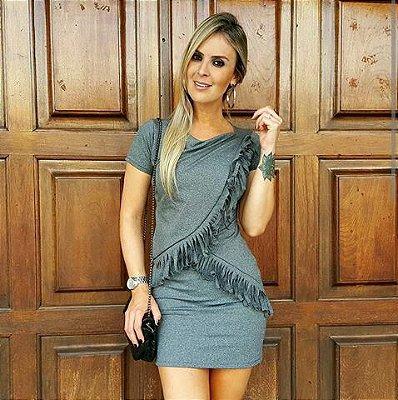 Vestido de franja