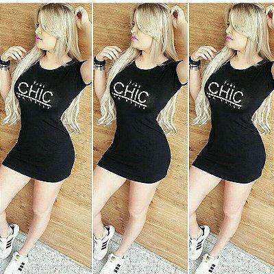 Vestido Chic Viscose