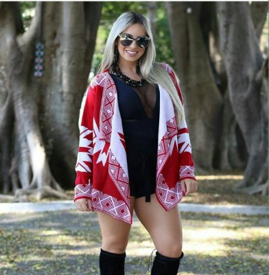 Kimono Vermelho