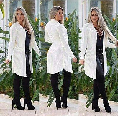 Kimono trico branco