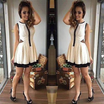 Vestido Boneca com zíper