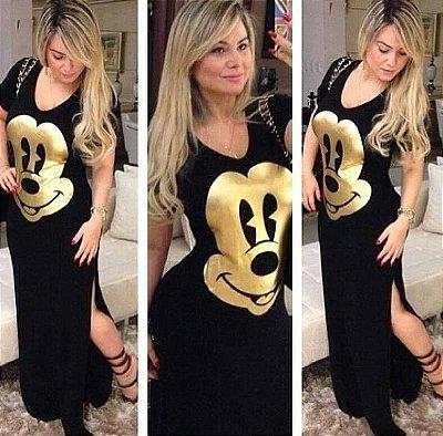 Vestido Longo do Mickey