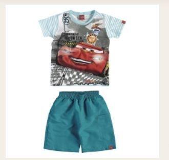 Conjunto infantil Carros Disney