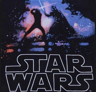 Camiseta masculina star Wars