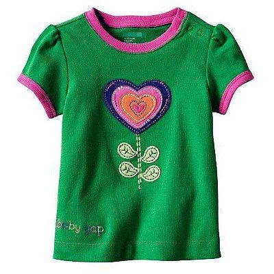 Camisetas divertidas para meninas. PRONTA ENTREGA ! Baby Gap e outros