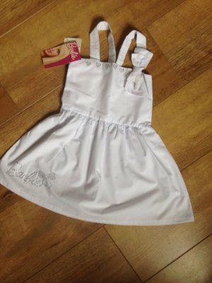 Vestido Malwee branco Barbie
