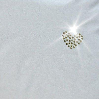 Camiseta malha gelada detalhe em strass (diversas cores)