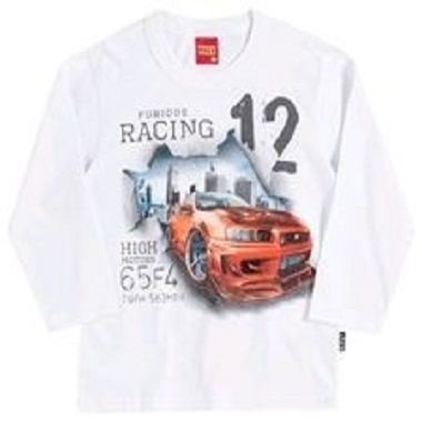 Camiseta manga comprida racing Kyly