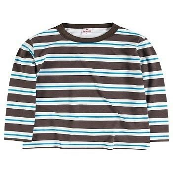 Camiseta Brandili meia malha manga longa