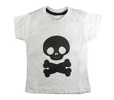 Camiseta Infantil Caveirinha