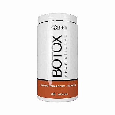 Botox Capilar 1Kg Redução De Volume
