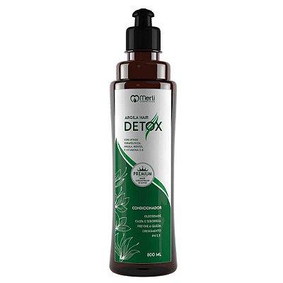 Condicionador Detox 800ml cabelos oleosos