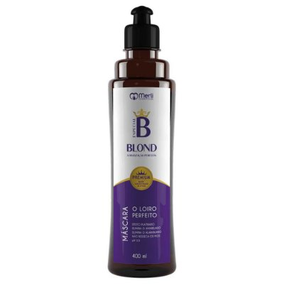 Máscara Matizadora Blond Platinum 400 ml