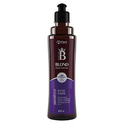 Shampoo matizador blond profissional 800 ml