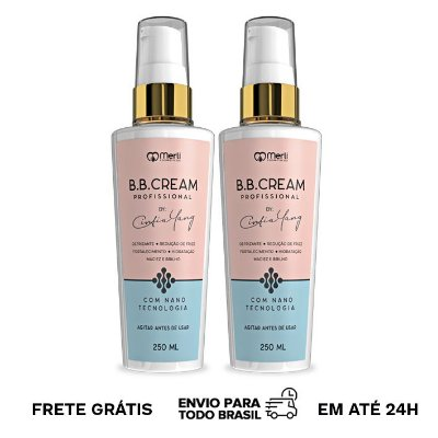 kit 2x  BB Cream By Cintia Yang 250 ml
