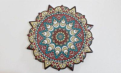 Mandala de porcelana